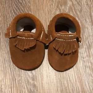 Other - Suede Baby Moccasins